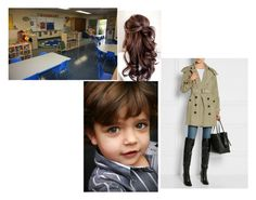 """Princess Chelsea Registers Her Son For Preschool"" by chelseaofwales ❤ liked on Polyvore featuring Burberry"
