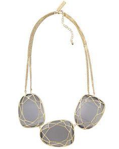 Marcella Statement Necklace in Slate - Kendra Scott Jewelry