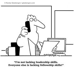 no following skills joke