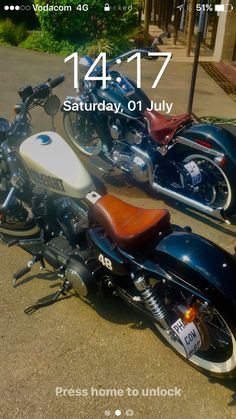 My Harley's