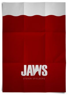 Less is more. Jaws movie poster