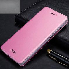 Funda de piel tipo libro Huawei P8 Lite rosa #tecnologia #ofertas #ordenadores #tablet
