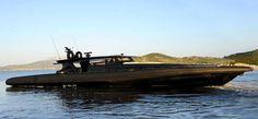 ... Novamarine-Black-Shiver-220-mega-yacht-tender ...
