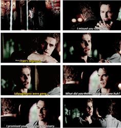 "#TVD 6x06 ""The More You Ignore Me, the Closer I Get"" - Damon and Stefan"