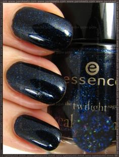 Love this color blue!  Essence Breaking Dawn Polish - Jacobs Protection