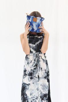 Osei Duro Guise Dress Black White Abstract