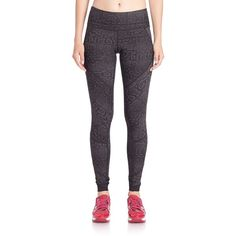 Vimmia Python-Print Performance Leggings ($120) ❤ liked on Polyvore featuring pants, leggings, apparel & accessories, python jacquard, stretch waist pants, snakeskin print leggings, snake skin pants, snakeskin pants and python pants