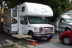 Learn how to level and stabilize your RV before you head on the road! RVing has its tricks & good tips can make the outdoor vacation an even better one!