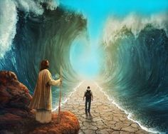 """""""Thus says the Lord, who makes a way in the sea and a path through the mighty waters"""" ~ Isaiah 43:16"""