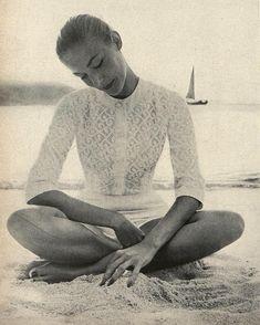 Vintage beach: Richard Avedon, Harper's Bazaar, 1956