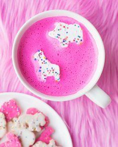 Pink Hot Chocolate | Studio DIY