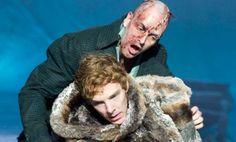 Benedict Cumberbatch and Johnny Lee Miller in Frankenstein
