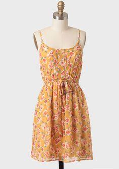 Desiree Floral Print Dress at #Ruche @shopruche