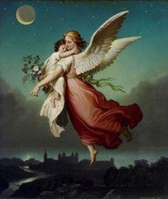 Oración al ángel de la guarda antes de acostarse