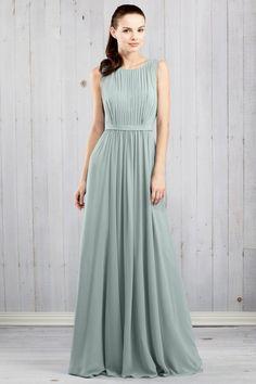 Jenny Yoo Vivienne in Morning Mist, Spring Mint, Ciel Blue