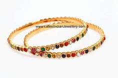 Beautiful Navaratna Bangles