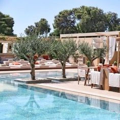 Between Pine trees & Sea views, olive trees and a appealing restaurant area is the ultimate sophistication setting a the pool of the Margi boutique hotel in Athens. . . . Pic by @themargihotel #luxurylife #athens #daypass #rooftoppool #hotelpool #luxurytravel #pampering #travel #we #greece #slh #poolside