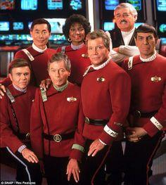The Original Cast - (Stock photo) 'Star Trek VI - The Undiscovered Country'