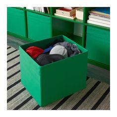 DRÖNA Caja - verde - IKEA
