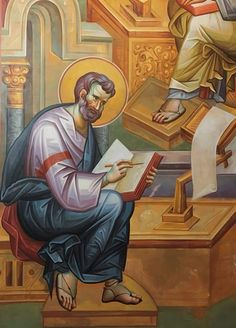 Byzantine Icons, Byzantine Art, Orthodox Icons, Fresco, Projects To Try, Abstract, Mosaics, Fictional Characters, Summary