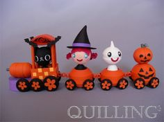 Halloween's train
