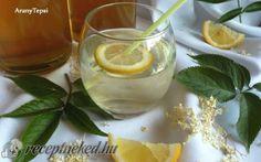 Bodzavirág szörp recept fotóval