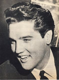 Elvis Presley, my favorite! I'm so missing Memphis right now!!