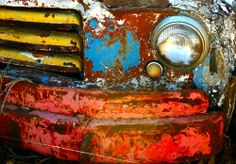 color, patina, and rust ....Rusted Dodge (by Zepsis)