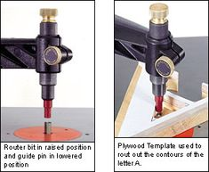 Veritas® Pin Router Arm - Lee Valley Tools