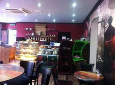 Foto de curiosos Tea Rooms.Edimburgo.Escocia.