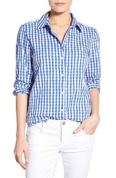 See how others are styling the Women's Foxcroft Crinkled Gingham Shirt. Check if your friends own the product and find other recommended products to complete the look. Closet Essentials, Gingham Shirt, Office Outfits, Crinkles, Work Fashion, Suits For Women, Feminine, Nordstrom, Shirt Dress