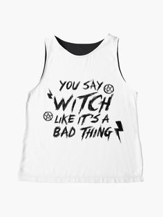 Blusa sin mangas «WITCH» de jdarkdesing | Redbubble Tops, Women, Fashion, Alternative Apparel, Sleeveless Tops, Products, Moda, Fashion Styles, Fashion Illustrations