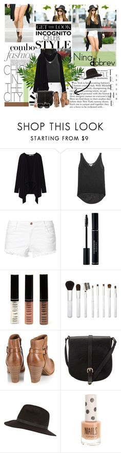 """nina's combo"" by fash-outfit ❤ liked on Polyvore featuring Uniqlo, Helmut by Helmut Lang, Zara, Lord & Berry, Sonia Kashuk, Monsoon, John Lewis, River Island, Topshop and Bottega Veneta"