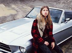 la modella mafia new cowgirl - Valerija Sestic x Annabelle Magazine November 2012 photographed by Nadine Ottawa 3