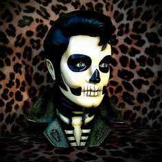 Gold Jacket Santa Muerte Day of the Dead by missluckyhellcatart, $125.00