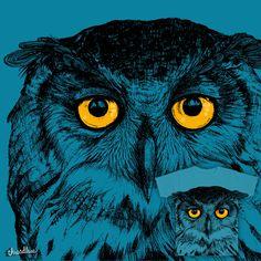 my owl on Threadless - pleas vote!