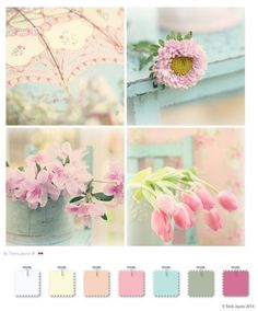 shabby chic paint colorsExclusive FREE liquorice pompom tutorial  Shabby chic colors
