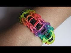 ▶ How To Make the Rainbow Loom RAINBOW LADDER Bracelet . VIDEO TUTORIAL DIY - YouTube Teaching you how to make a rainbow loom RAINBOW LADDER bracelet step by step!  Rainbow Looms are so popular with kids they are constantly sold out. This video shows you how to make Rainbow Loom RAINBOW LADDER Bracelet. This is a very hard one to do. It took me several tries so don't get discouraged. Keep trying.