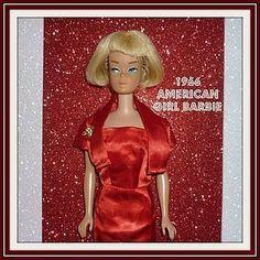 Mattel American Girl Barbie Doll - #1070 From 1966 - Light Blonde (item #1279410) #dollshopsunited