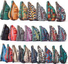 Kavu Rope Bag All Colors Fast Ship Sling Messenger Tote 2016 Canvas Backpack