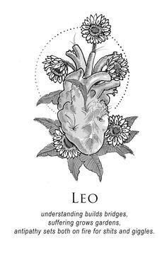 Amrit Brar's Portfolio - Book IX: The Body and The Wreckage Leo Leo Horoscope, Astrology Leo, Horoscopes, Zodiac Art, My Zodiac Sign, Aries Zodiac, Zodiac Quotes, Quotes Quotes, Be Wolf