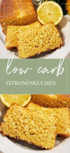 Für dieses Rezept bekomme ich immer Komplimente! Auch von Nicht-low-carb'lern. Fluffig, zitronig, nicht pampig. Einfach saftiger Zitronenkuchen aus wenigen Zutaten. Probiert es aus!