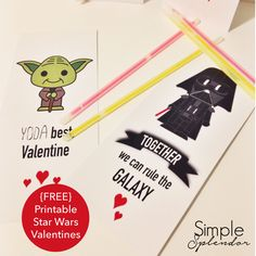 Free Star Wars Valentine Printables #247moms