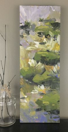 Available Artwork — Jill Van Sickle Lily Painting, Flower Painting Canvas, Abstract Canvas, Abstract Landscape Painting, Oil Painting Flowers, Abstract Flowers, Acrylic Art, Beautiful Paintings, Flower Art