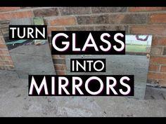 Turn GLASS Into MIRRORS! | Hometalk