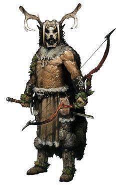 Hirschkönig - Anführer der Banditen, die den Grüngürtel unsicher gemacht hatten. gestorben bei der Verteidigung seines Forts