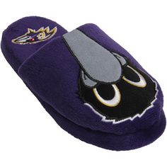 Baltimore Ravens Youth Mascot Slippers - $11.99