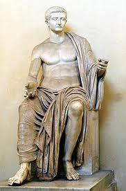 Tiberio Julio César Augusto, nacido con el nombre de Tiberio Claudio Nerón (en latín; Tiberius Claudius Nero; n. 16 de noviembre de 42 a. C. – 16 de marzo del 37 d. C.), fue emperador del Imperio romano desde el 18 de septiembre del año 14 hasta su muerte, el 16 de marzo del año 37. Fue el segundo emperador de Roma y perteneció a la dinastía Julio-Claudia. Era hijo de Tiberio Claudio Nerón y Livia Drusilla, miembro por tanto de la gens Claudia.