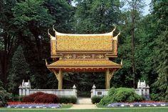 Thai-Sala im Park at Bad Homburg, Hesse, Germany (inaugurated May 22, 1914)
