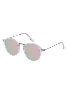 Shop Pink Lenses Round Frame Sunglasses online. SheIn offers Pink Lenses  Round Frame Sunglasses   more to fit your fashionable needs. 2f12e1e5ccc1